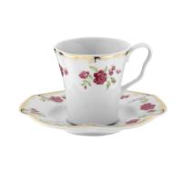 Kütahya Porselen Nil 8554 Desen Kahve Takımı