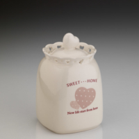 Kütahya Porselen Sweet Home 17 Cm Baharatlık