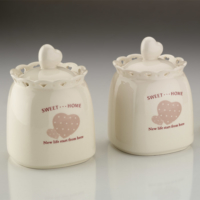Kütahya Porselen Sweet Home 6 Parça Baharat Takımı