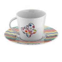 Kütahya Porselen Toledo 6 Kişilik 12 Parça 7069 Desen Çay Takımı