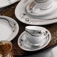 Kütahya Porselen Yasemin 12 Parça 10128 Desen Çay Takımı