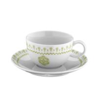 Mitterteich 86683 Desen Çay Fincanı Ve Tabağı