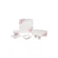 Karaca Pink Bow 32 Parça Porselen Kahvaltı Seti