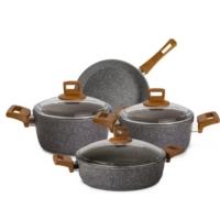 Karaca Silver Stone Bio Granit 7 Parça Döküm Set
