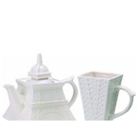Original Boutique Eyfel Tasarımlı Porselen Çay Seti (Kupa & Çaydanlık)