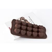 Elitparti Silikon Çikolata Kalıbı Noktalı Kalp