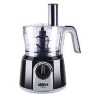 Stilevs Maxi Chef Mutfak Robotu - Siyah&Gri