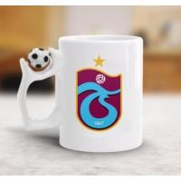 Adell Foto Trabzonspor Futbol Toplu Beyaz Kupa Bardak