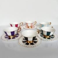 Evstil Renkli Çay Seti