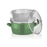 Schafer Fry Çıtır Kızartma Tenceresi 22 cm Yeşil (80623)