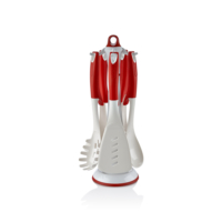 Mini Home Red Kepçe Takımı 6 Parça