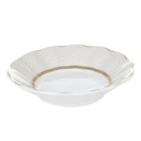 Cutechef Kitchen Porselen Golden Dots Çay Tabağı