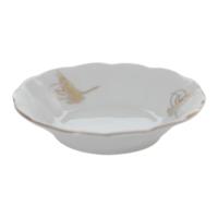 Cutechef Kitchen Porselen Sultan Tuğra Desenli Çay Tabağı