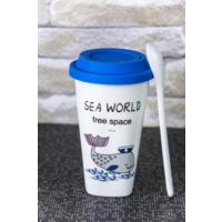Lena Dekor Deniz Termos Kahve Bardağı\ Kupa 4 x 14 cm