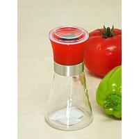Kitchen Love Renkli Cam Değirmen Öğütücü Tuzluk&Biberlik