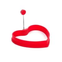 Kitchen Love Silikon Kalp Şekilli Yumurta Şekillendirici