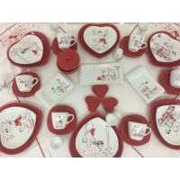 Keramika Peri Masalı Aşk Kahvaltı Takımı