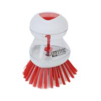 Efemark Deterjan Hazneli Kırmızı Bulaşık Fırçası