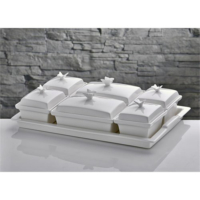 İhouseyg58b Porselen Kahvaltılık Beyaz