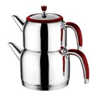 Emsan Halley Çaydanlık Takımı Kırmızı