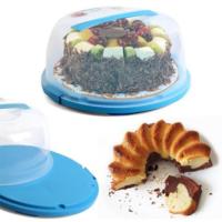 Bluezen Kilitleme Mekanizmalı Pasta Kek Kabı