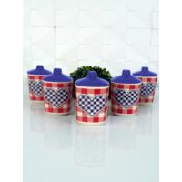 Keramika Takım Baharat Kosem 8 Cm 10 Parca Mat 021-952 Potıkare A