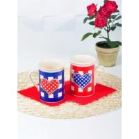 Keramika 2 Adet Tuna Potıkare Nescafe Kupası