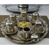 Osmanlı 6 Lı Türk Kahve Ve Lokumluk COSHC054