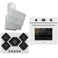 Ferre White Ultra Pro Cute Ankastre Set (FR B ELIT 600 - 10003 - FR B KA013 )