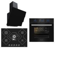 Ferre Black Ultra Pro Cute Ankastre Set (FR S ELIT 600 - 10004 - FR S KA012)