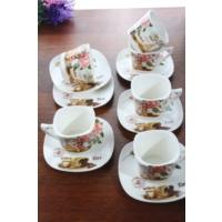 Loveq Porselen 6'Lı Kahve Takımı Thm-Hhp-3013-Fy
