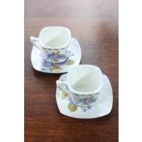 Loveq Porselen 2'Li Kahve Takımı Thm-Hhp-3016-M
