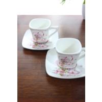 Loveq Porselen 2'Li Kahve Takımı Thm-Hhp-3014-P