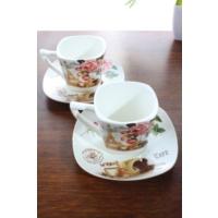 Loveq Porselen 2'Li Kahve Takımı Thm-Hhp-3012-Fy