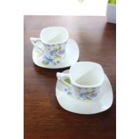 Loveq Porselen 2'Li Kahve Takımı Thm-Hhp-3014-M