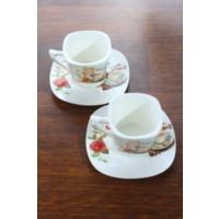 Loveq Porselen 2'Li Kahve Takımı Thm-Hhp-3013-K