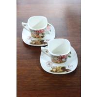 Loveq Porselen 2'Li Kahve Takımı Thm-Hhp-3012-Py