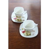 Loveq Porselen 2'Li Kahve Takımı Thm-Hhp-3011-Y
