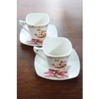 Loveq Porselen 2'Li Kahve Takımı Thm-Hhp-3010-Fy