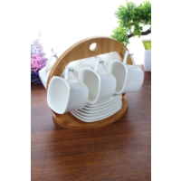 Loveq Porselen Standlı Kahve Takımı Thm-Hhp-3112
