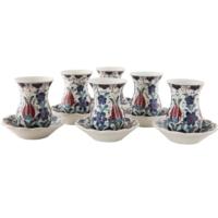 Quartz Ceramics El Yapımı Seramik Çay Seti