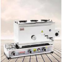 Mizan Çift Tabanlı 40 lt LPG/CNG+Elekt. Pleyt'li Çay&Kahve Seti Kazanı
