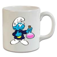 XukX Dizayn Şirinler Kimyacı Kupa