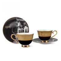 Karaca Unıcef Ara Güler 2 Kişilik Kahve Fincan Seti