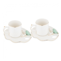 Karaca Lucca Mint 2 Kişilik Çay Fican Seti