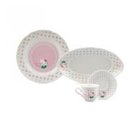 Karaca Hello Kitty Soft Yeşil 24 Parça Kahvaltı Seti