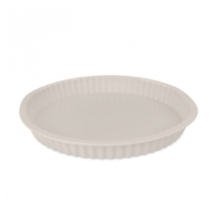 Cookplus Silikon Tart Kalıbı Cream White 27X3 Cm