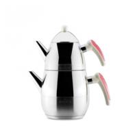 Karaca Defne Mini Çaydanlık Pembe