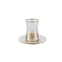 Palast Çay Seti - Dantel 12 Parça Amber (AMB04)