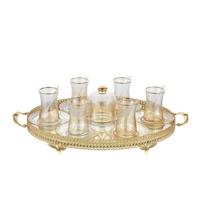 Palast Çay Seti - Heybeli 21 Parça Amber (AMB01)